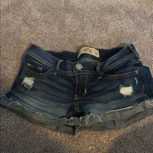 Hollister shorts sz 0
